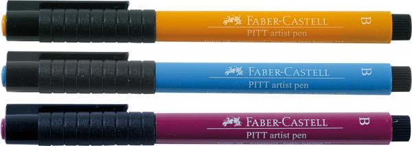 Faber-Castell Pitt Artist Pen Brush/Soft Brush