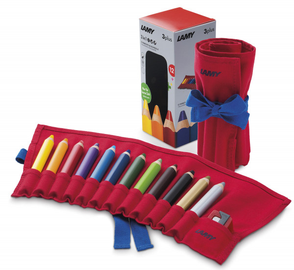 3Plus Farbstiftrolle