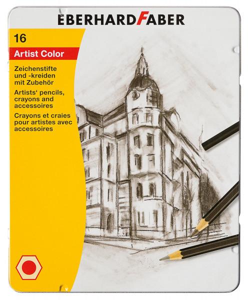 Eberhard Faber Artist Color Zeichen-Set, 16-teilig