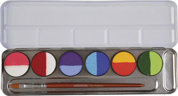 Eulenspiegel Split Cakes Bodypaintingfarben-Set