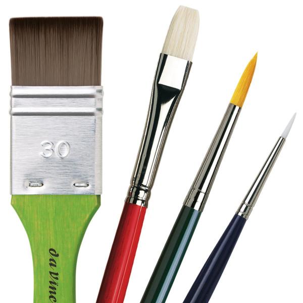 Da Vinci Acrylpinsel-Set für Einsteiger