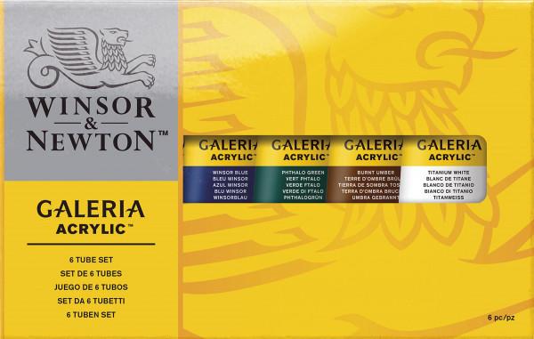 Winsor & Newton – Galeria Acrylfarben-Set