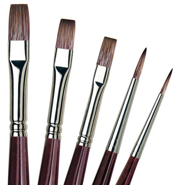 Da Vinci Grigio Pinsel-Set | 5 Pinsel