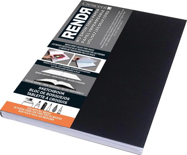 Softcover Sketchbook   Crescent Rendr Markerpapier