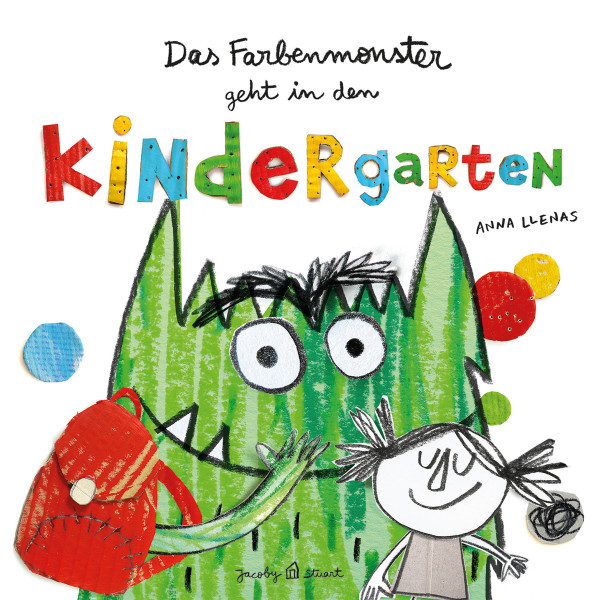 Das Farbenmonster geht in den Kindergarten (Anna Llenas) | Jacoby & Stuart