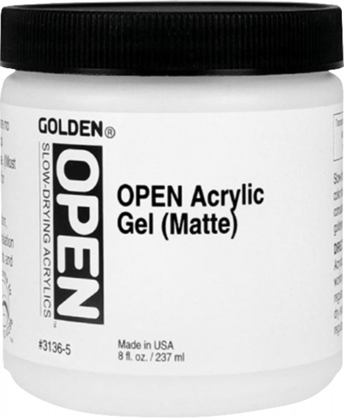Open Acrylic Gel | Golden Mediums & Additives