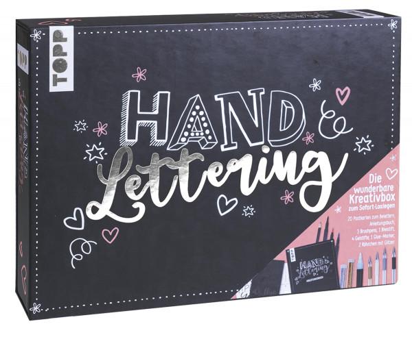 Handlettering – Die wunderbare Kreativbox   frechverlag