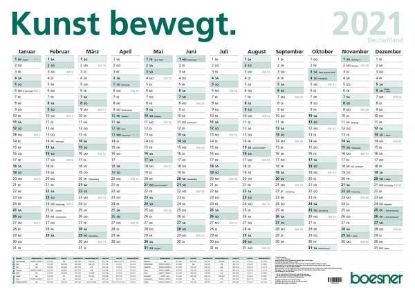 MONAT_2020-08_Aug: boesner Wandplaner 2021