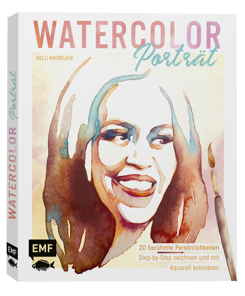Watercolor Porträt (Nelli Andrejew) | Edition Michael Fischer