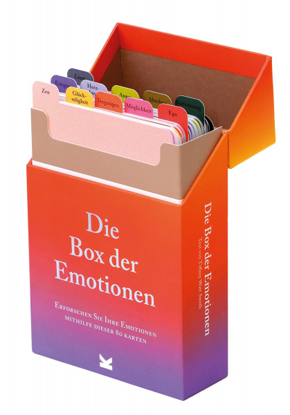 Die Box der Emotionen (Tiffany Watt Smith, Therese Vandling) | Laurence King Vlg.