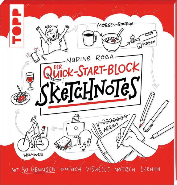 Sketchnotes QuickStart-Block (Nadine Roßa) | frechverlag