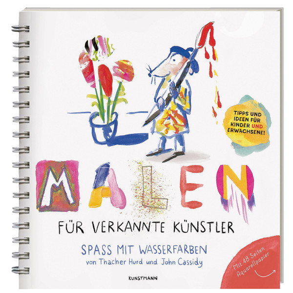 Malen für verkannte Künstler (John Cassidy, Thacher Hurd) | Verlag Antje Kunstmann