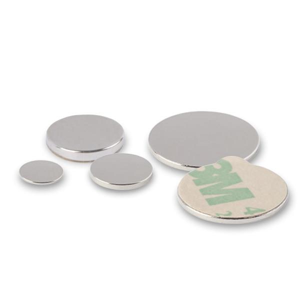 Scheibenmagnet selbstklebend   Arteveri Neodym-Magnet