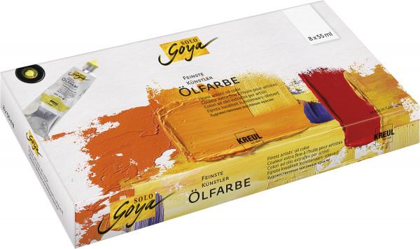 Kreul Solo Goya Ölfarben-Set | 8 x 55 ml