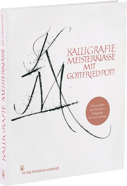 Kalligrafie Meisterklasse (Gottfried Pott)   Verlag Hermann Schmidt