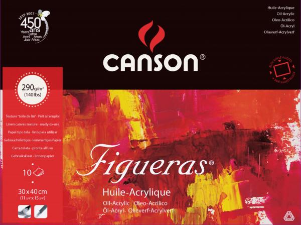 Canson Figueras Öl- und Acrylmalpapier, Block
