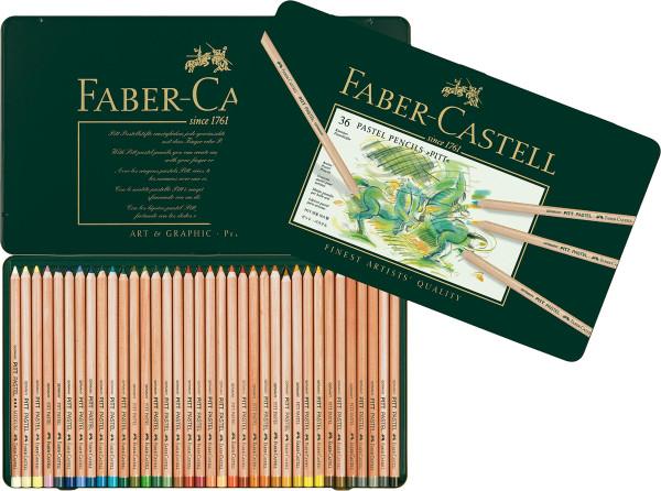 Set im Metalletui | Faber-Castell Pitt Pastellstift