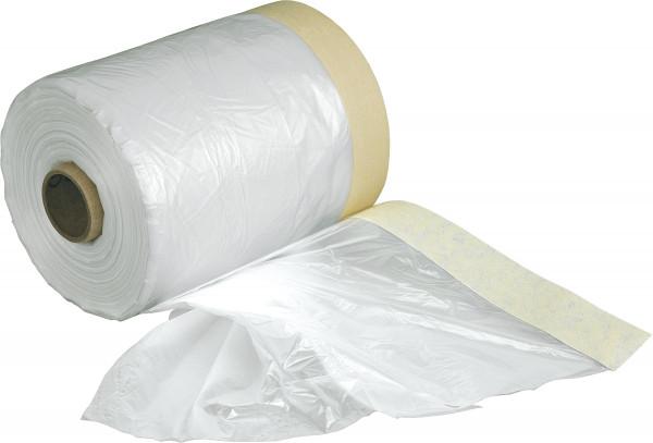 Abdeckfolie mit Papier-Abklebeband