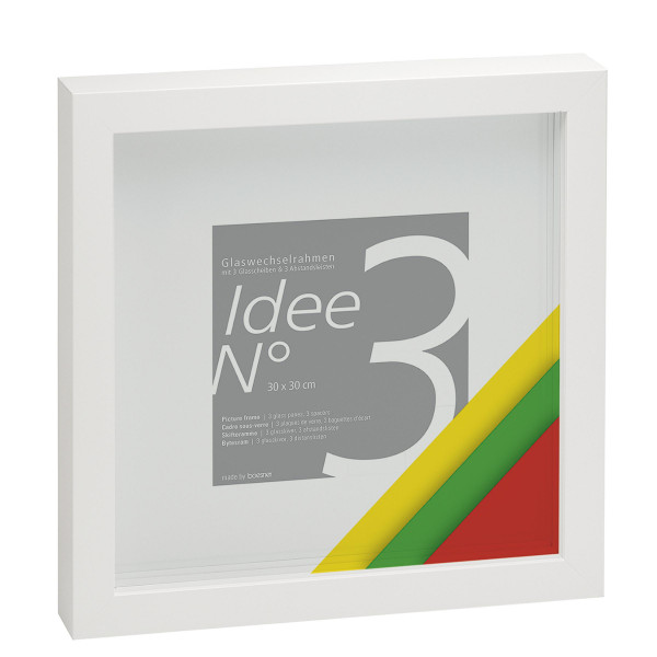 Idee No. 3 Mehrglas-Objektrahmen