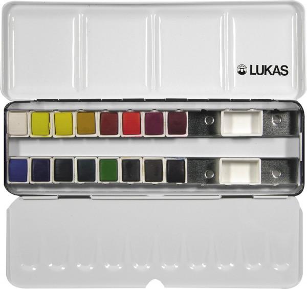 Lukas Künstler-Aquarellfarbkasten (L6742)