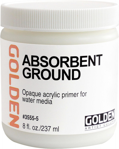 Absorbent Ground | Golden Gesso & Grounds