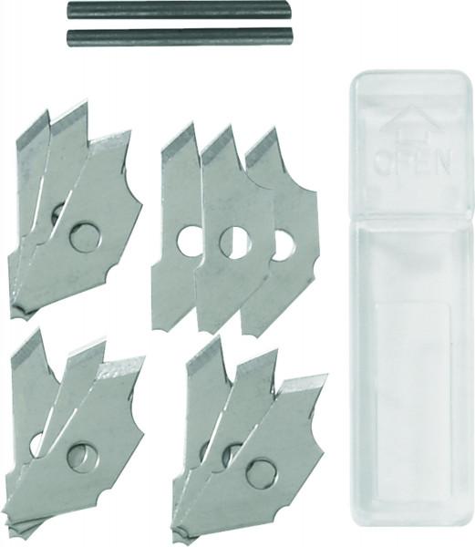 Klingen, 12 Stück + 2 Bleiminen | Ecobra Kreis-Cutter