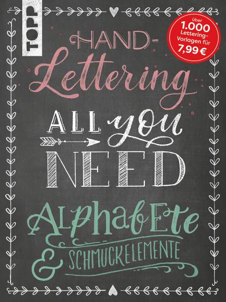 Handlettering All you need   frechverlag