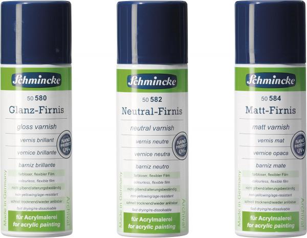 Schmincke Glanz-/Neutralfirnis mit UV-Schutz