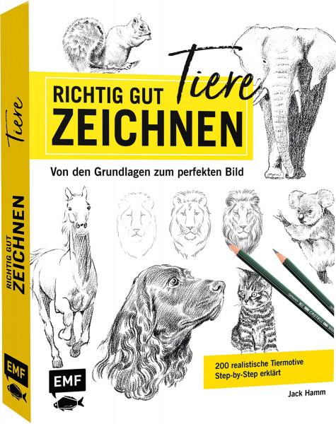 Richtig gut zeichnen – Tiere (Jack Hamm) | EMF Vlg.