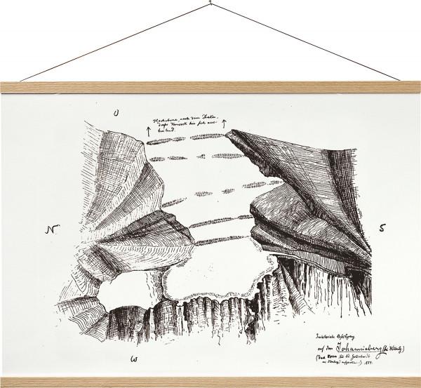 Boesnertest Posterschiene aus Holz