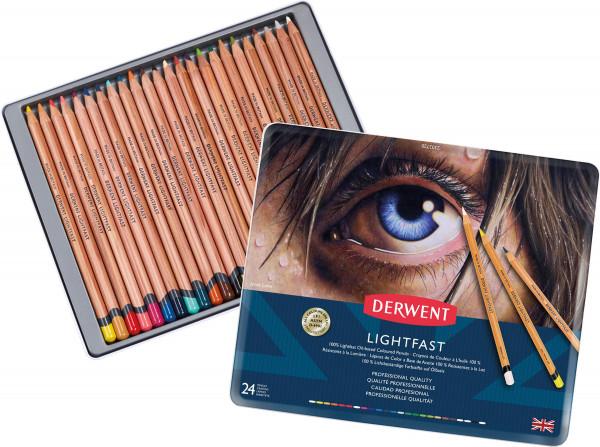 Derwent Lightfast Farbstift-Set