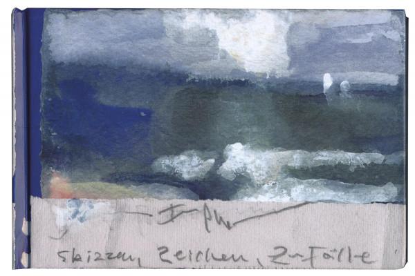 Klaus Fußmann: Skizzen, Zeichen, Zufälle (Galerie Peerling (Hrsg.)) | Klaus Fußmann