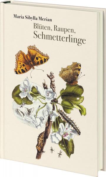 Favoritenpresse Blüten, Raupen, Schmetterlinge
