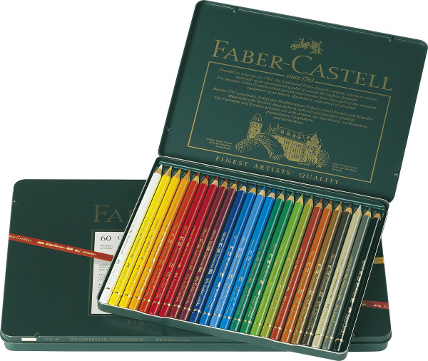 Faber-Castell Polychromos-Set | Metalletui