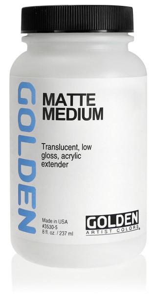 Matte Medium | Golden Mediums & Additives