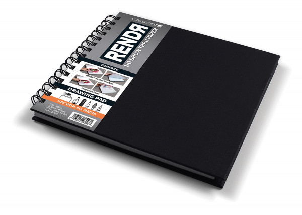 Sketchbook mit Spiralbindung | Crescent Rendr Markerpapier