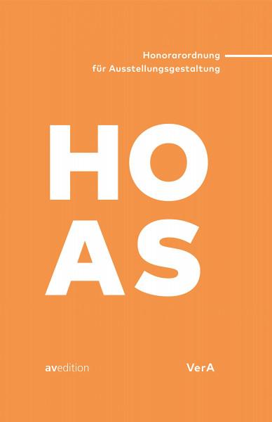 HOAS – Honorarordnung für Ausstellungsgestaltung (Stefan Kleßmann)   av edition