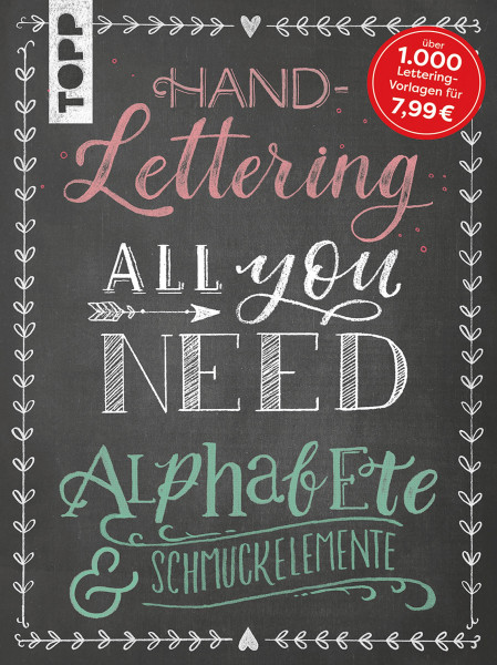 Handlettering All you need | frechverlag