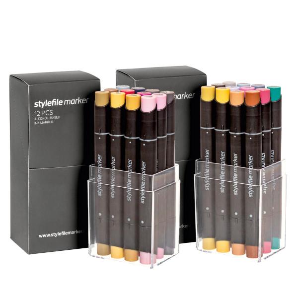 MAILING_2020-11_Nov: Stylefile Marker | 12er-Sondersets, Multi 34 + 35