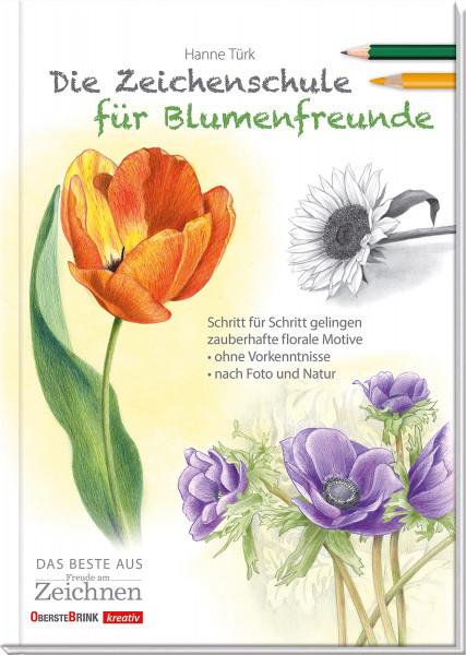 Die Zeichenschule für Blumenfreunde (Hanne Türk) | Oberstebrink
