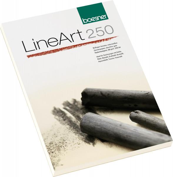 boesner LineArt 250 Zeichenblock