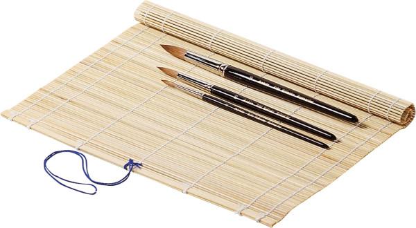 Seng Pinselmatte aus Bambus