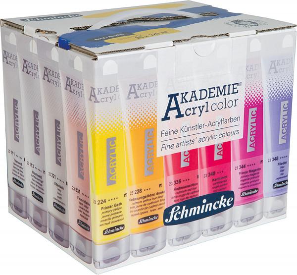 MAILING_2021-05_Mai: Schmincke Akademie Acryl Color | Value-Pack: 20x 120 ml