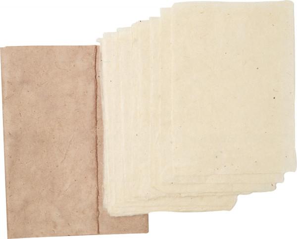 Kahari Mappe mit Papier aus dem Himalaya