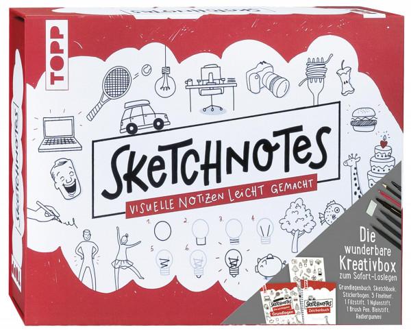 frechverlag Sketchnotes - die wunderbare Kreativbox