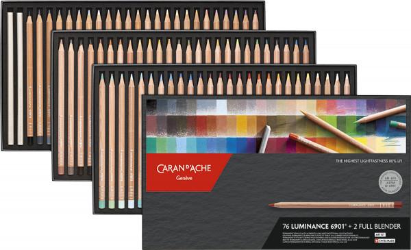 Caran d'Ache Luminance 6901® Farbstift-Set