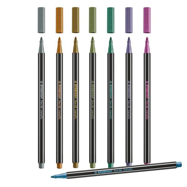 Einzelstift, Metallic   Stabilo Pen 68