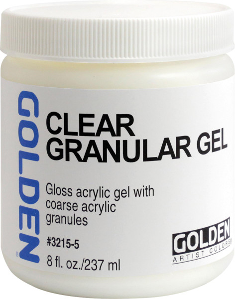 Clear Granular Gel | Golden Gels & Molding Pastes