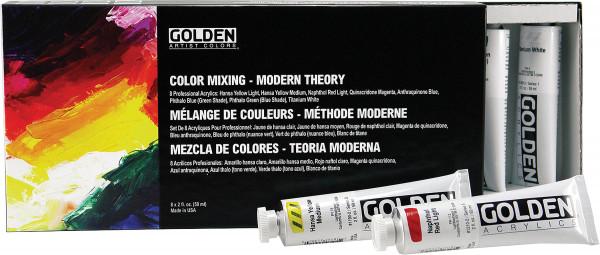 Golden Heavy Body Acrylics Color Mixing Set