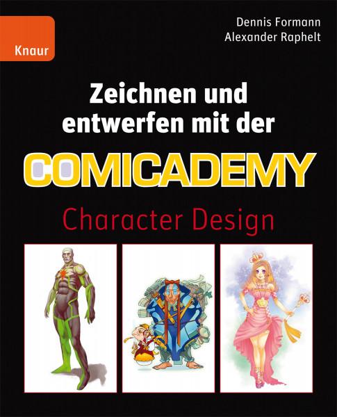 Droemer Knaur Verlag Zeichnen und entwerfen mit der Comicademy